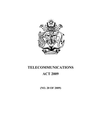 Telecommunications (Class Licence Amendment) Administrative Order 2013 (No. 02 of 2013)
