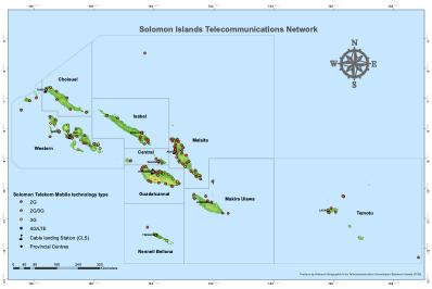 Solomon Telekom by Type of Technology
